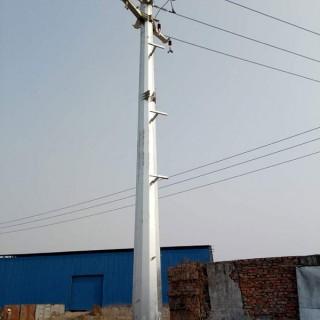 昆明市 終端鋼桿 15米雙回路電纜終端鋼桿 益瑞鋼桿有限公司