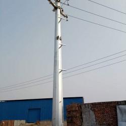 昆明市 终端钢杆 15米双回路电缆终端钢杆 益瑞钢杆有限公司