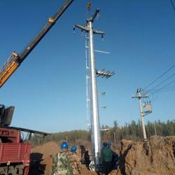 曲靖市 转角钢杆 30度转角钢杆 益瑞钢杆有限公司