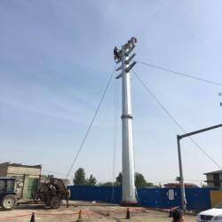 曲靖市 转角钢杆 架空输电转角钢杆 益瑞钢杆有限公司