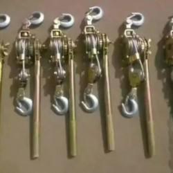 定制 日式紧线器, 双钩紧线器 ,双棘轮式紧线器 ,钢绞线卡线器