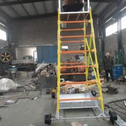 接触网检修梯车钢制绝缘梯车铝合金梯车导高4/5/6米