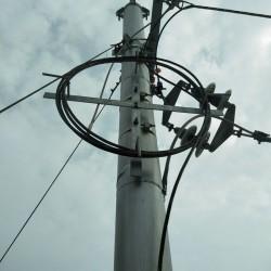 光缆余缆架规格 厂家直销光缆余缆架塔用光缆余缆架的安装图片