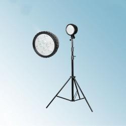 大功率防爆强光工作灯BR6108B防爆泛光灯升降直杆照明